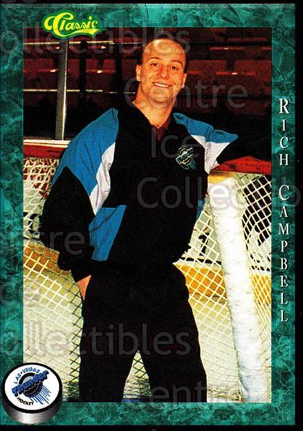 1994-95 Las Vegas Thunder #4 Rich Campbell<br/>4 In Stock - $3.00 each - <a href=https://centericecollectibles.foxycart.com/cart?name=1994-95%20Las%20Vegas%20Thunder%20%234%20Rich%20Campbell...&price=$3.00&code=31290 class=foxycart> Buy it now! </a>