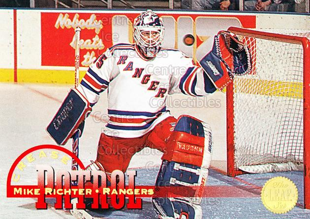 1994-95 Leaf Crease Patrol #8 Mike Richter<br/>23 In Stock - $2.00 each - <a href=https://centericecollectibles.foxycart.com/cart?name=1994-95%20Leaf%20Crease%20Patrol%20%238%20Mike%20Richter...&quantity_max=23&price=$2.00&code=31302 class=foxycart> Buy it now! </a>