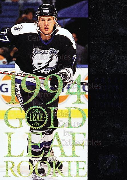 1994-95 Leaf Gold Leaf Rookies #4 Chris Gratton<br/>4 In Stock - $3.00 each - <a href=https://centericecollectibles.foxycart.com/cart?name=1994-95%20Leaf%20Gold%20Leaf%20Rookies%20%234%20Chris%20Gratton...&quantity_max=4&price=$3.00&code=31314 class=foxycart> Buy it now! </a>