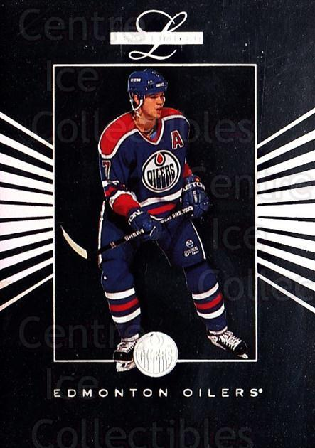 1994-95 Leaf Limited Inserts #8 Jason Arnott<br/>4 In Stock - $3.00 each - <a href=https://centericecollectibles.foxycart.com/cart?name=1994-95%20Leaf%20Limited%20Inserts%20%238%20Jason%20Arnott...&quantity_max=4&price=$3.00&code=31332 class=foxycart> Buy it now! </a>