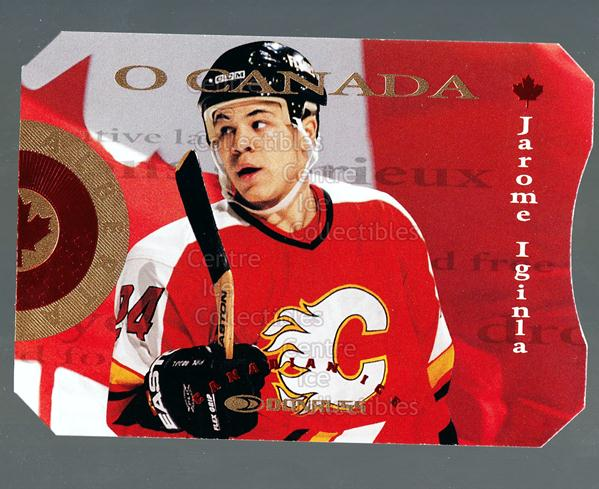 1996-97 Canadian Ice O Canada #4 Jarome Iginla<br/>1 In Stock - $5.00 each - <a href=https://centericecollectibles.foxycart.com/cart?name=1996-97%20Canadian%20Ice%20O%20Canada%20%234%20Jarome%20Iginla...&quantity_max=1&price=$5.00&code=313353 class=foxycart> Buy it now! </a>