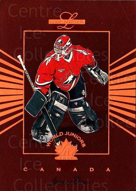 1994-95 Leaf Limited World Juniors Canada #10 Jamie Storr<br/>6 In Stock - $3.00 each - <a href=https://centericecollectibles.foxycart.com/cart?name=1994-95%20Leaf%20Limited%20World%20Juniors%20Canada%20%2310%20Jamie%20Storr...&price=$3.00&code=31335 class=foxycart> Buy it now! </a>