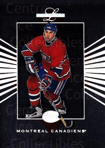 1994-95 Leaf Limited #101 Mathieu Schneider<br/>5 In Stock - $1.00 each - <a href=https://centericecollectibles.foxycart.com/cart?name=1994-95%20Leaf%20Limited%20%23101%20Mathieu%20Schneid...&quantity_max=5&price=$1.00&code=31347 class=foxycart> Buy it now! </a>