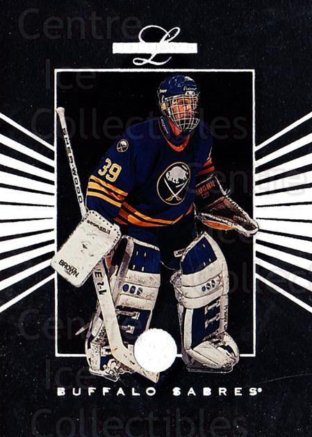 1994-95 Leaf Limited #102 Dominik Hasek<br/>4 In Stock - $2.00 each - <a href=https://centericecollectibles.foxycart.com/cart?name=1994-95%20Leaf%20Limited%20%23102%20Dominik%20Hasek...&quantity_max=4&price=$2.00&code=31348 class=foxycart> Buy it now! </a>