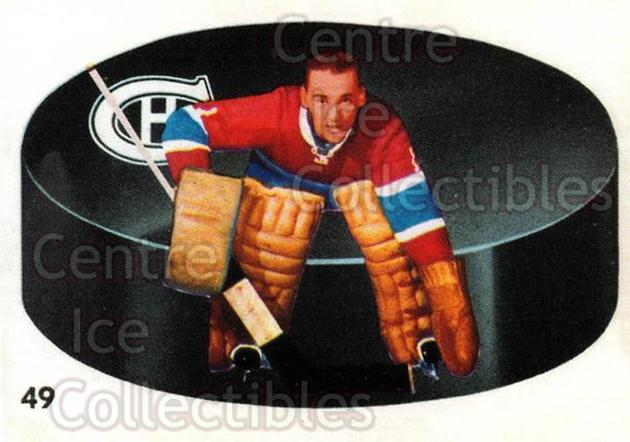 2001-02 Parkhurst Reprints #66 Jacques Plante<br/>2 In Stock - $5.00 each - <a href=https://centericecollectibles.foxycart.com/cart?name=2001-02%20Parkhurst%20Reprints%20%2366%20Jacques%20Plante...&quantity_max=2&price=$5.00&code=313501 class=foxycart> Buy it now! </a>