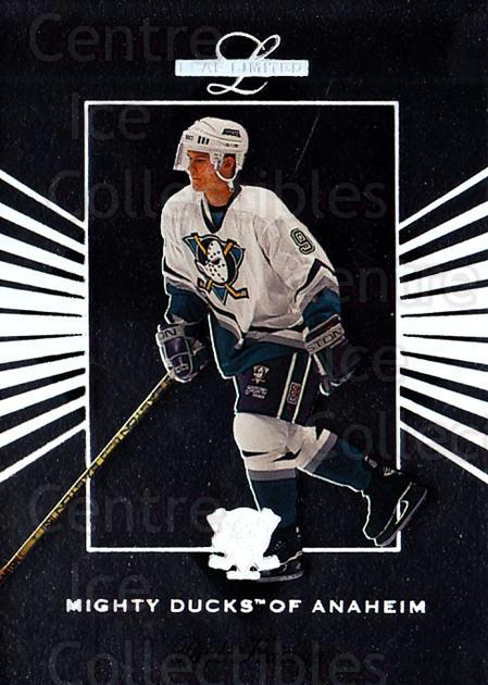1994-95 Leaf Limited #107 Paul Kariya<br/>2 In Stock - $2.00 each - <a href=https://centericecollectibles.foxycart.com/cart?name=1994-95%20Leaf%20Limited%20%23107%20Paul%20Kariya...&quantity_max=2&price=$2.00&code=31352 class=foxycart> Buy it now! </a>