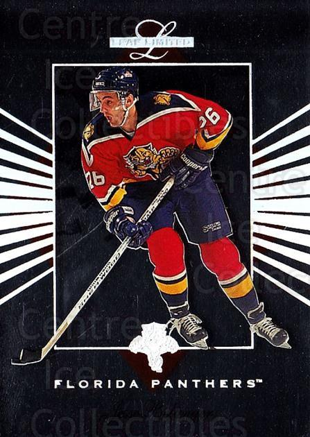 1994-95 Leaf Limited #19 Jesse Belanger<br/>5 In Stock - $1.00 each - <a href=https://centericecollectibles.foxycart.com/cart?name=1994-95%20Leaf%20Limited%20%2319%20Jesse%20Belanger...&quantity_max=5&price=$1.00&code=31372 class=foxycart> Buy it now! </a>