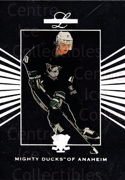 1994-95 Leaf Limited #24 Oleg Tverdovsky<br/>5 In Stock - $1.00 each - <a href=https://centericecollectibles.foxycart.com/cart?name=1994-95%20Leaf%20Limited%20%2324%20Oleg%20Tverdovsky...&quantity_max=5&price=$1.00&code=31377 class=foxycart> Buy it now! </a>