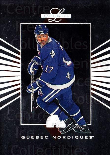 1994-95 Leaf Limited #31 Wendel Clark<br/>5 In Stock - $1.00 each - <a href=https://centericecollectibles.foxycart.com/cart?name=1994-95%20Leaf%20Limited%20%2331%20Wendel%20Clark...&quantity_max=5&price=$1.00&code=31384 class=foxycart> Buy it now! </a>