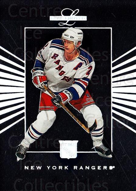 1994-95 Leaf Limited #33 Brian Leetch<br/>4 In Stock - $1.00 each - <a href=https://centericecollectibles.foxycart.com/cart?name=1994-95%20Leaf%20Limited%20%2333%20Brian%20Leetch...&quantity_max=4&price=$1.00&code=31386 class=foxycart> Buy it now! </a>