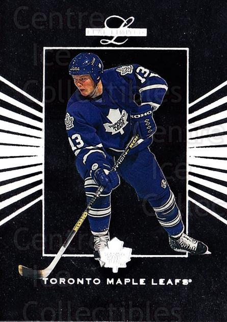 1994-95 Leaf Limited #42 Mats Sundin<br/>6 In Stock - $1.00 each - <a href=https://centericecollectibles.foxycart.com/cart?name=1994-95%20Leaf%20Limited%20%2342%20Mats%20Sundin...&quantity_max=6&price=$1.00&code=31396 class=foxycart> Buy it now! </a>
