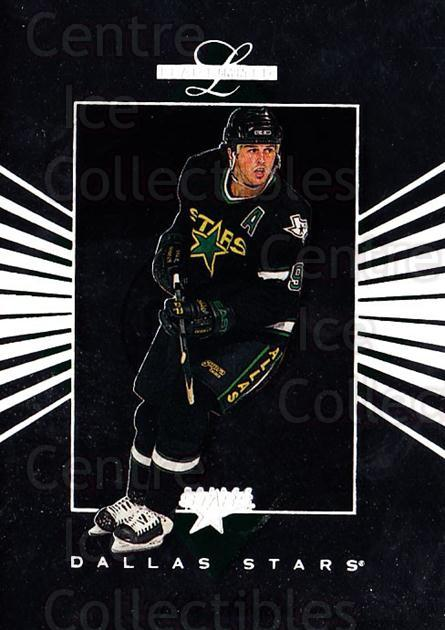 1994-95 Leaf Limited #60 Mike Modano<br/>7 In Stock - $1.00 each - <a href=https://centericecollectibles.foxycart.com/cart?name=1994-95%20Leaf%20Limited%20%2360%20Mike%20Modano...&quantity_max=7&price=$1.00&code=31415 class=foxycart> Buy it now! </a>