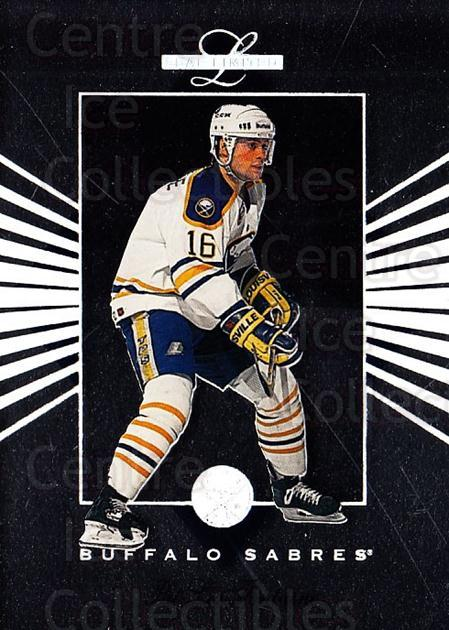 1994-95 Leaf Limited #63 Pat LaFontaine<br/>7 In Stock - $1.00 each - <a href=https://centericecollectibles.foxycart.com/cart?name=1994-95%20Leaf%20Limited%20%2363%20Pat%20LaFontaine...&quantity_max=7&price=$1.00&code=31418 class=foxycart> Buy it now! </a>