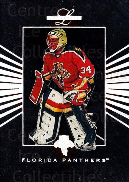 1994-95 Leaf Limited #72 John Vanbiesbrouck<br/>4 In Stock - $2.00 each - <a href=https://centericecollectibles.foxycart.com/cart?name=1994-95%20Leaf%20Limited%20%2372%20John%20Vanbiesbro...&quantity_max=4&price=$2.00&code=31426 class=foxycart> Buy it now! </a>