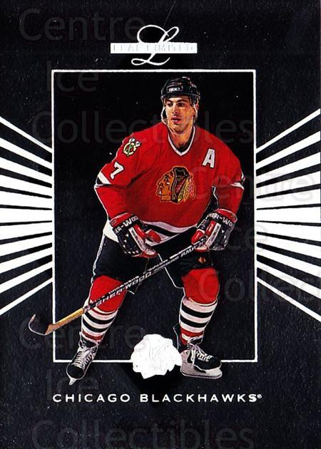 1994-95 Leaf Limited #83 Chris Chelios<br/>6 In Stock - $1.00 each - <a href=https://centericecollectibles.foxycart.com/cart?name=1994-95%20Leaf%20Limited%20%2383%20Chris%20Chelios...&quantity_max=6&price=$1.00&code=31437 class=foxycart> Buy it now! </a>