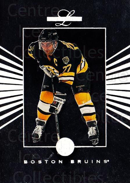 1994-95 Leaf Limited #84 Ray Bourque<br/>6 In Stock - $1.00 each - <a href=https://centericecollectibles.foxycart.com/cart?name=1994-95%20Leaf%20Limited%20%2384%20Ray%20Bourque...&quantity_max=6&price=$1.00&code=31438 class=foxycart> Buy it now! </a>