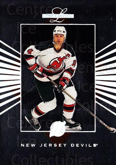 1994-95 Leaf Limited #85 Scott Stevens<br/>4 In Stock - $1.00 each - <a href=https://centericecollectibles.foxycart.com/cart?name=1994-95%20Leaf%20Limited%20%2385%20Scott%20Stevens...&quantity_max=4&price=$1.00&code=31439 class=foxycart> Buy it now! </a>
