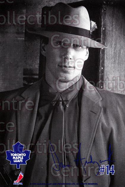 1994-95 Toronto Maple Leafs Gangsters #1 Dave Andreychuk<br/>4 In Stock - $3.00 each - <a href=https://centericecollectibles.foxycart.com/cart?name=1994-95%20Toronto%20Maple%20Leafs%20Gangsters%20%231%20Dave%20Andreychuk...&quantity_max=4&price=$3.00&code=31475 class=foxycart> Buy it now! </a>