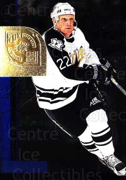1998-99 SPx Top Prospects #19 Brett Hull<br/>2 In Stock - $2.00 each - <a href=https://centericecollectibles.foxycart.com/cart?name=1998-99%20SPx%20Top%20Prospects%20%2319%20Brett%20Hull...&quantity_max=2&price=$2.00&code=314976 class=foxycart> Buy it now! </a>