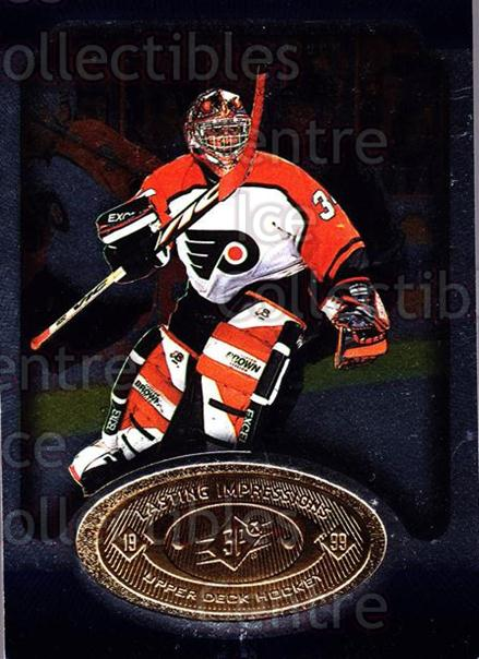 1998-99 SPx Top Prospects Lasting Impressions #2 John Vanbiesbrouck<br/>6 In Stock - $3.00 each - <a href=https://centericecollectibles.foxycart.com/cart?name=1998-99%20SPx%20Top%20Prospects%20Lasting%20Impressions%20%232%20John%20Vanbiesbro...&price=$3.00&code=315071 class=foxycart> Buy it now! </a>