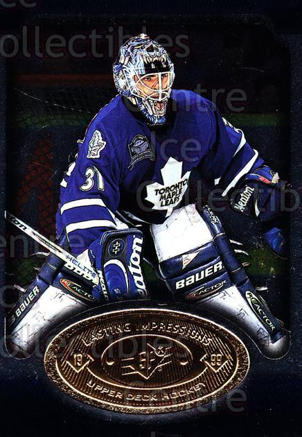 1998-99 SPx Top Prospects Lasting Impressions #12 Curtis Joseph<br/>3 In Stock - $3.00 each - <a href=https://centericecollectibles.foxycart.com/cart?name=1998-99%20SPx%20Top%20Prospects%20Lasting%20Impressions%20%2312%20Curtis%20Joseph...&price=$3.00&code=315075 class=foxycart> Buy it now! </a>