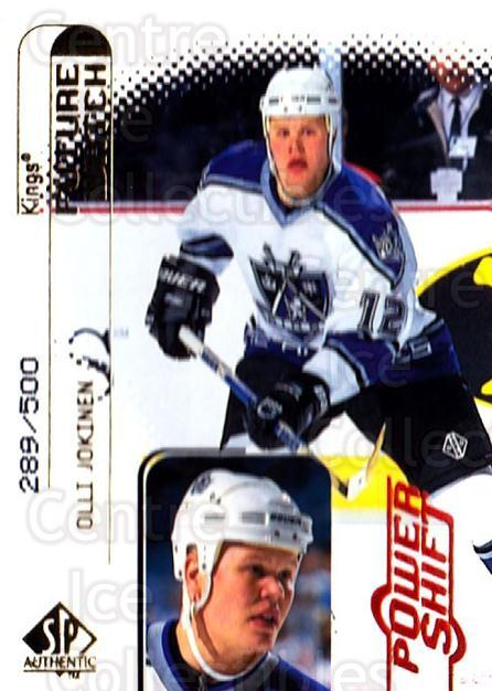 1998-99 SP Authentic Power Shift #100 Olli Jokinen<br/>1 In Stock - $5.00 each - <a href=https://centericecollectibles.foxycart.com/cart?name=1998-99%20SP%20Authentic%20Power%20Shift%20%23100%20Olli%20Jokinen...&quantity_max=1&price=$5.00&code=315183 class=foxycart> Buy it now! </a>