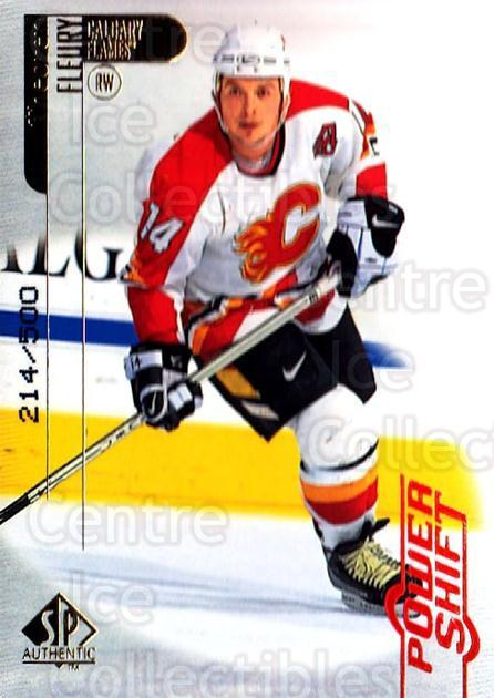 1998-99 SP Authentic Power Shift #12 Theo Fleury<br/>1 In Stock - $5.00 each - <a href=https://centericecollectibles.foxycart.com/cart?name=1998-99%20SP%20Authentic%20Power%20Shift%20%2312%20Theo%20Fleury...&quantity_max=1&price=$5.00&code=315201 class=foxycart> Buy it now! </a>