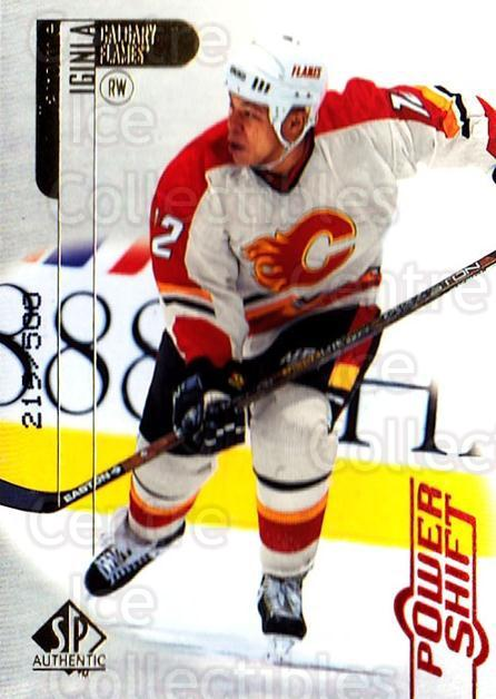 1998-99 SP Authentic Power Shift #13 Jarome Iginla<br/>1 In Stock - $5.00 each - <a href=https://centericecollectibles.foxycart.com/cart?name=1998-99%20SP%20Authentic%20Power%20Shift%20%2313%20Jarome%20Iginla...&quantity_max=1&price=$5.00&code=315209 class=foxycart> Buy it now! </a>