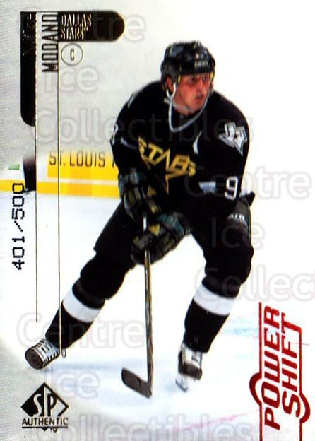 1998-99 SP Authentic Power Shift #25 Mike Modano<br/>1 In Stock - $5.00 each - <a href=https://centericecollectibles.foxycart.com/cart?name=1998-99%20SP%20Authentic%20Power%20Shift%20%2325%20Mike%20Modano...&quantity_max=1&price=$5.00&code=315226 class=foxycart> Buy it now! </a>