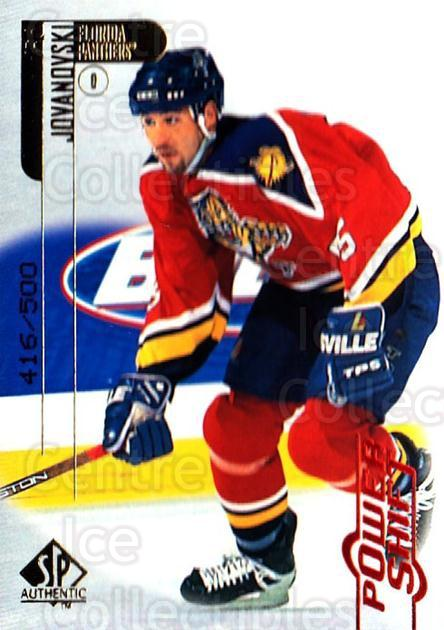 1998-99 SP Authentic Power Shift #37 Ed Jovanovski<br/>1 In Stock - $3.00 each - <a href=https://centericecollectibles.foxycart.com/cart?name=1998-99%20SP%20Authentic%20Power%20Shift%20%2337%20Ed%20Jovanovski...&quantity_max=1&price=$3.00&code=315239 class=foxycart> Buy it now! </a>