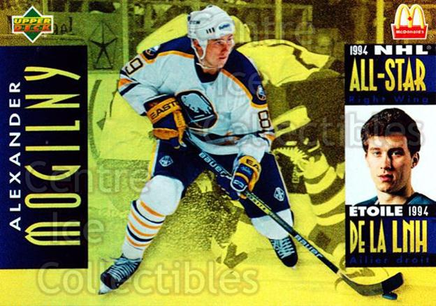 1994-95 McDonalds Upper Deck #8 Alexander Mogilny<br/>9 In Stock - $1.00 each - <a href=https://centericecollectibles.foxycart.com/cart?name=1994-95%20McDonalds%20Upper%20Deck%20%238%20Alexander%20Mogil...&quantity_max=9&price=$1.00&code=31524 class=foxycart> Buy it now! </a>