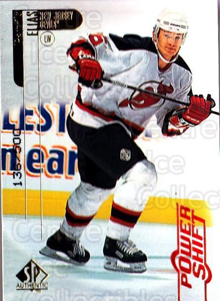 1998-99 SP Authentic Power Shift #50 Patrik Elias<br/>1 In Stock - $3.00 each - <a href=https://centericecollectibles.foxycart.com/cart?name=1998-99%20SP%20Authentic%20Power%20Shift%20%2350%20Patrik%20Elias...&quantity_max=1&price=$3.00&code=315253 class=foxycart> Buy it now! </a>