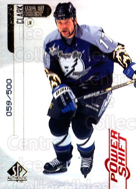 1998-99 SP Authentic Power Shift #79 Wendel Clark<br/>1 In Stock - $5.00 each - <a href=https://centericecollectibles.foxycart.com/cart?name=1998-99%20SP%20Authentic%20Power%20Shift%20%2379%20Wendel%20Clark...&quantity_max=1&price=$5.00&code=315284 class=foxycart> Buy it now! </a>