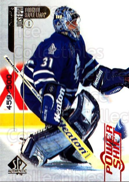 1998-99 SP Authentic Power Shift #82 Curtis Joseph<br/>1 In Stock - $5.00 each - <a href=https://centericecollectibles.foxycart.com/cart?name=1998-99%20SP%20Authentic%20Power%20Shift%20%2382%20Curtis%20Joseph...&quantity_max=1&price=$5.00&code=315288 class=foxycart> Buy it now! </a>
