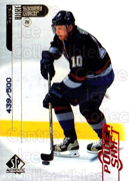 1998-99 SP Authentic Power Shift #86 Pavel Bure<br/>1 In Stock - $5.00 each - <a href=https://centericecollectibles.foxycart.com/cart?name=1998-99%20SP%20Authentic%20Power%20Shift%20%2386%20Pavel%20Bure...&quantity_max=1&price=$5.00&code=315292 class=foxycart> Buy it now! </a>