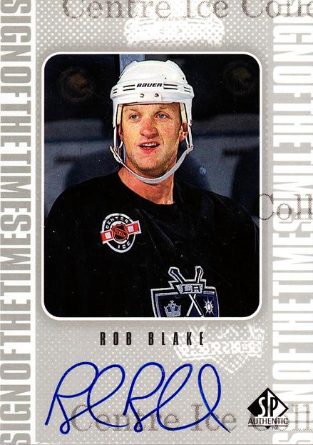 1998-99 Sp Authentic Sign of the Times #RB Rob Blake<br/>1 In Stock - $10.00 each - <a href=https://centericecollectibles.foxycart.com/cart?name=1998-99%20Sp%20Authentic%20Sign%20of%20the%20Times%20%23RB%20Rob%20Blake...&price=$10.00&code=315351 class=foxycart> Buy it now! </a>