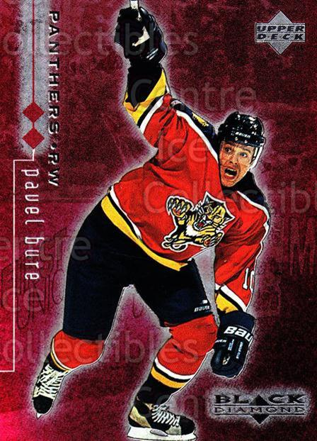 1998-99 Black Diamond Double Diamond #37 Pavel Bure<br/>1 In Stock - $5.00 each - <a href=https://centericecollectibles.foxycart.com/cart?name=1998-99%20Black%20Diamond%20Double%20Diamond%20%2337%20Pavel%20Bure...&quantity_max=1&price=$5.00&code=315613 class=foxycart> Buy it now! </a>