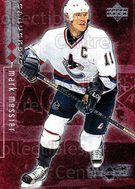 1998-99 Black Diamond Double Diamond #85 Mark Messier<br/>5 In Stock - $2.00 each - <a href=https://centericecollectibles.foxycart.com/cart?name=1998-99%20Black%20Diamond%20Double%20Diamond%20%2385%20Mark%20Messier...&quantity_max=5&price=$2.00&code=315665 class=foxycart> Buy it now! </a>