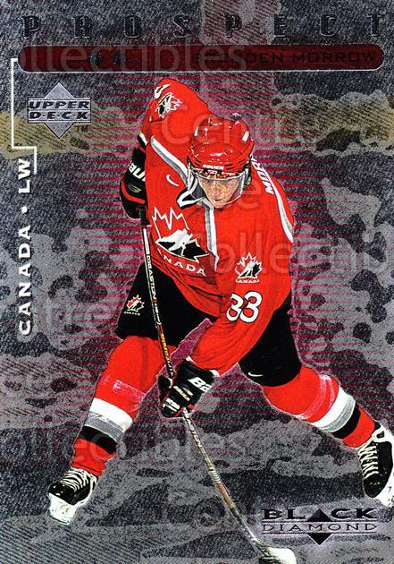 1998-99 Black Diamond Double Diamond #94 Brenden Morrow<br/>3 In Stock - $3.00 each - <a href=https://centericecollectibles.foxycart.com/cart?name=1998-99%20Black%20Diamond%20Double%20Diamond%20%2394%20Brenden%20Morrow...&quantity_max=3&price=$3.00&code=315674 class=foxycart> Buy it now! </a>