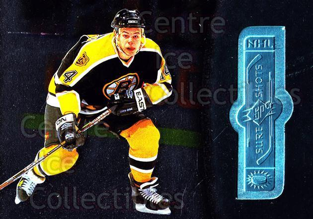 1998-99 SPx Finite #121 Sergei Samsonov<br/>2 In Stock - $3.00 each - <a href=https://centericecollectibles.foxycart.com/cart?name=1998-99%20SPx%20Finite%20%23121%20Sergei%20Samsonov...&quantity_max=2&price=$3.00&code=315946 class=foxycart> Buy it now! </a>