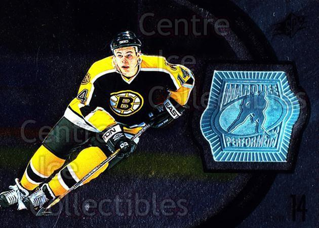 1998-99 SPx Finite #155 Sergei Samsonov<br/>2 In Stock - $5.00 each - <a href=https://centericecollectibles.foxycart.com/cart?name=1998-99%20SPx%20Finite%20%23155%20Sergei%20Samsonov...&quantity_max=2&price=$5.00&code=315958 class=foxycart> Buy it now! </a>