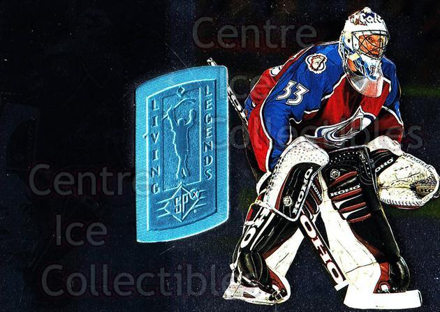 1998-99 SPx Finite #171 Patrick Roy<br/>2 In Stock - $15.00 each - <a href=https://centericecollectibles.foxycart.com/cart?name=1998-99%20SPx%20Finite%20%23171%20Patrick%20Roy...&price=$15.00&code=315969 class=foxycart> Buy it now! </a>