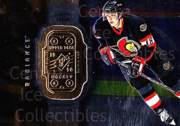 1998-99 SPx Finite Radiance #58 Marian Hossa<br/>8 In Stock - $2.00 each - <a href=https://centericecollectibles.foxycart.com/cart?name=1998-99%20SPx%20Finite%20Radiance%20%2358%20Marian%20Hossa...&quantity_max=8&price=$2.00&code=316064 class=foxycart> Buy it now! </a>