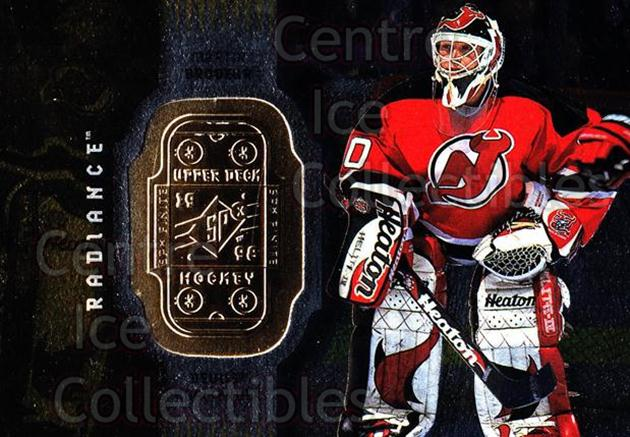 1998-99 SPx Finite Radiance #46 Martin Brodeur<br/>4 In Stock - $5.00 each - <a href=https://centericecollectibles.foxycart.com/cart?name=1998-99%20SPx%20Finite%20Radiance%20%2346%20Martin%20Brodeur...&price=$5.00&code=316108 class=foxycart> Buy it now! </a>
