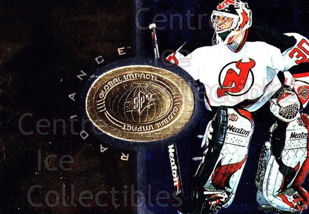 1998-99 SPx Finite Radiance #105 Martin Brodeur<br/>1 In Stock - $5.00 each - <a href=https://centericecollectibles.foxycart.com/cart?name=1998-99%20SPx%20Finite%20Radiance%20%23105%20Martin%20Brodeur...&price=$5.00&code=316121 class=foxycart> Buy it now! </a>