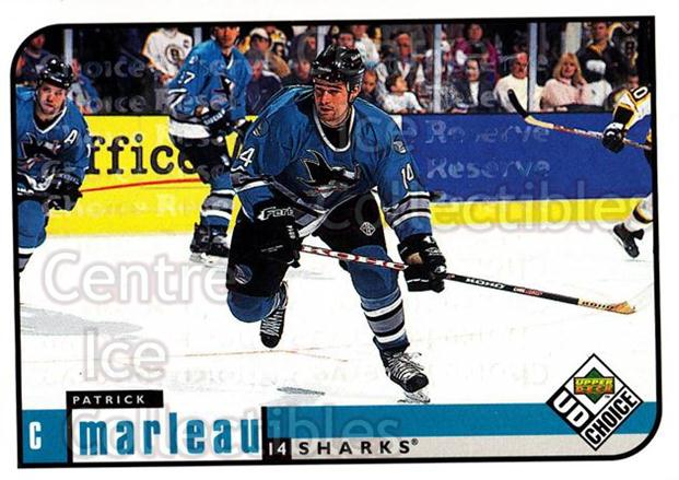 1998-99 UD Choice Reserve #173 Patrick Marleau<br/>4 In Stock - $2.00 each - <a href=https://centericecollectibles.foxycart.com/cart?name=1998-99%20UD%20Choice%20Reserve%20%23173%20Patrick%20Marleau...&quantity_max=4&price=$2.00&code=316499 class=foxycart> Buy it now! </a>
