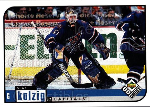 1998-99 UD Choice Reserve #215 Olaf Kolzig<br/>3 In Stock - $2.00 each - <a href=https://centericecollectibles.foxycart.com/cart?name=1998-99%20UD%20Choice%20Reserve%20%23215%20Olaf%20Kolzig...&quantity_max=3&price=$2.00&code=316544 class=foxycart> Buy it now! </a>