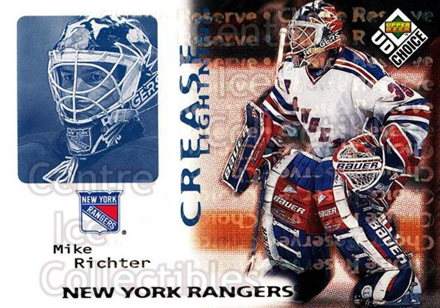 1998-99 UD Choice Reserve #246 Mike Richter<br/>1 In Stock - $2.00 each - <a href=https://centericecollectibles.foxycart.com/cart?name=1998-99%20UD%20Choice%20Reserve%20%23246%20Mike%20Richter...&quantity_max=1&price=$2.00&code=316576 class=foxycart> Buy it now! </a>