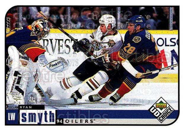 1998-99 UD Choice Reserve #82 Ryan Smyth<br/>2 In Stock - $2.00 each - <a href=https://centericecollectibles.foxycart.com/cart?name=1998-99%20UD%20Choice%20Reserve%20%2382%20Ryan%20Smyth...&quantity_max=2&price=$2.00&code=316692 class=foxycart> Buy it now! </a>