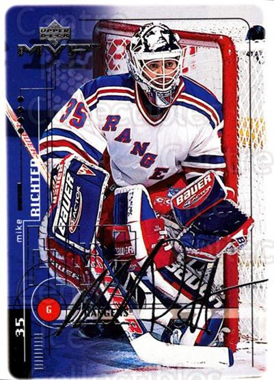 1998-99 Upper Deck MVP Silver Script #135 Mike Richter<br/>1 In Stock - $2.00 each - <a href=https://centericecollectibles.foxycart.com/cart?name=1998-99%20Upper%20Deck%20MVP%20Silver%20Script%20%23135%20Mike%20Richter...&quantity_max=1&price=$2.00&code=317583 class=foxycart> Buy it now! </a>